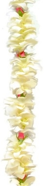 Hawaiian orchids and romantic rosebuds make this a Special Lei