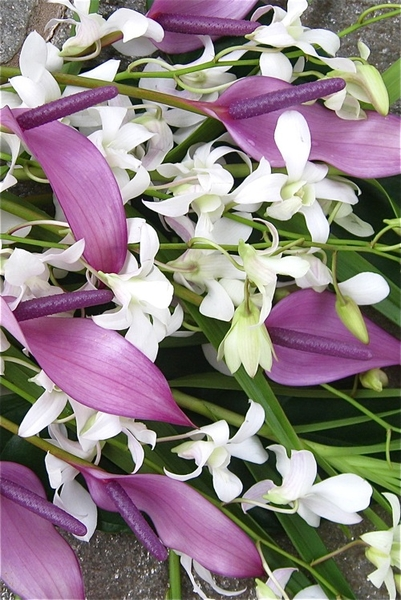 Tropical Pastel Bouquet is one of our most popular selections.